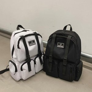 Man Backpack Large Capacity High School College Students Backpack Girls Travel Bag Multiple Pockets Lovers Bag