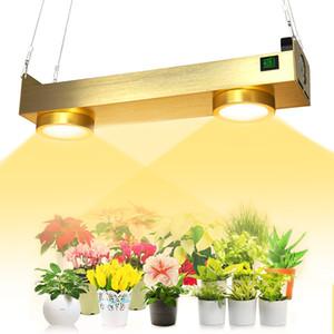 2021 New Arrival CXB3590 COB 200W LED Plant Grow Light Dimmable Timing Full Spectrum Hydroponics Veg Bloom Lamp