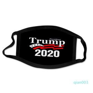 Máscara Mantenha América enfrentam grandes Trump Orelha de suspensão Todos os Exterior Bandeiras comboio presidencial Votação das estrelas dos EUA Máscaras impressos Mascarilla 2 2bg C2