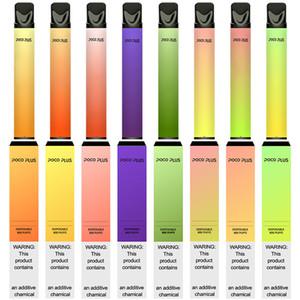 800Puffs Poco PLUS Dispositivo de Vape Descartável 550mAh Bateria 3.2ml PODs 2000 Puffs Vape Starter Kit Compras Online nos EUA