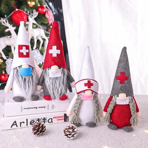 2020 الحجر عيد الميلاد الدمى الديكور الحلي اسم هدية شخصية الأسرة حلية جائحة عيد الميلاد لعبة تزيين دي إتش إل الحرة
