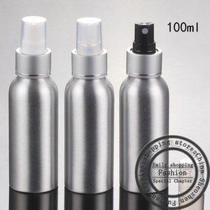 New(30pcs)100ml Spray aluminum bottle,spray a fine mist of perfume bottles,cosmetic points bottling,refillable bottles
