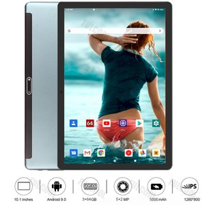 Brand New Unlocked Android 9.0 OS 10 Inch Tablet Octa Core Dual SIM Card Phone Call Wifi GPS IPS 3GB RAM 64GB ROM +Gifts