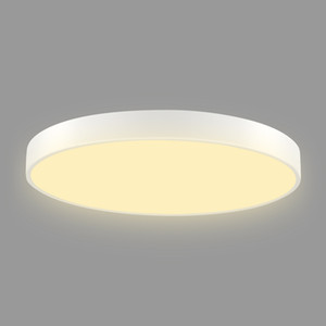 Led Ultra-Thin Ceiling Lamp 500Mm 36W Led Ultra-Thin Ceiling Lamp Round Warm White Light 2 Piece Set