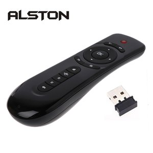 ALSTON T2 Fly Air Mouse Remote Control 2.4GHz Wireless 3D Gyro Motion Stick For Sense Game PC Android TV Box Google Player
