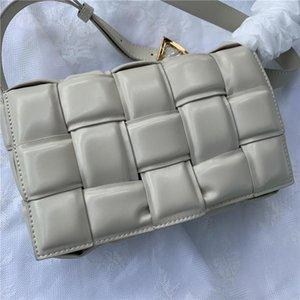 크로스 바디 백 패키지 카세트 스폰지 가방 가죽 핸드백 대각선 격자 무늬 베개 여성 숄더백 여성 가방 여성을위한 핸드백 가방