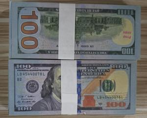EE.UU. dólares Proponer dinero película Billete de banco Papel Novedad Juguetes 20 50 100 dólares Moneda Partido Fake Money Niños Regalo Juguete Billete Billete 18
