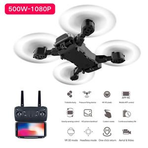 K2 RC Drone 1080P Dual Caméra Dual-Hauteur Quadcopteur Long-Endurance Pliant Dronçon 1080P WiFi Télécommande Aircraft