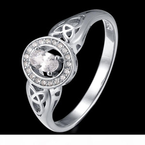 Fahmi 2020 New Popular 100% 925 Sterling Silver Love Heart Ring1-38 High Quality Original Jewellery For Women Party Wedding Gift