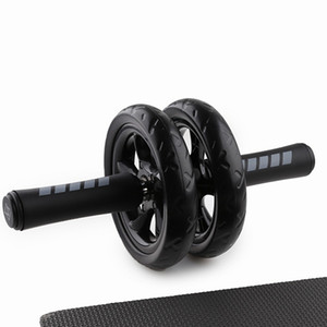 No Noise Abdominal Wheel Ab Roller With Mat For Gym Muscle Trainer Exercise Fitness Equipment