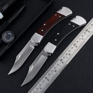 Nouveau BK 110 couteau pliant 9Cr18Mov lame G10 / sable manche en bois de fer camping en plein air couteau auto-défense tactique de chasse outil EDC