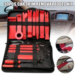 Neu Verkaufs-30pcs Car Trim Removal Tools Kit Car Audio Entfernen keine Deformation Demontage Werkzeuge Set J8 # 3