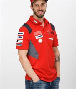 F1 Formula Bir Gelgit Marka Kısa Kollu Yaka T-shirt Polyester Hızlı Kuruyan Araba Fan Kültürü Polo Gömlek Lindao Mekan Rider Üniforma aynı