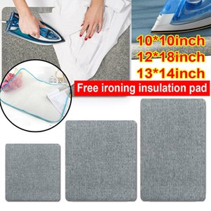 Wool Pressing Mat Ironing Pad High Temperature Ironing Board Silken Banner for Clothes Garment Steamer Portabe Iron Table Rack