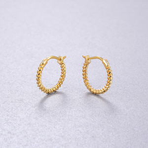 S925 silver small round shape earring for women charm wedding jewelry gift free shipping PS8702