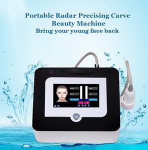 Macchina per sollevamento viso portatile V-Max HIFU per casa / salone di salone di bellezza