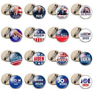 19 Styles Joe Biden Brooch 2020 US Presidential Election Biden Badge Tinplate Election Badges Biden Vote Brooch Pin Party Favors EWA1081