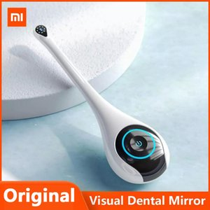 Xiaomi Youpin TIMESISO Visual espejo dental T5-YPC 1080P HD elegantes de la boca de la cámara endoscopio inalámbrica puede tomar fotografías Herramienta del dentista