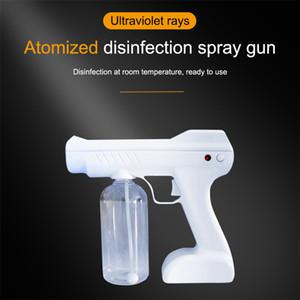Blue Light Nano Spray Gun 100-240V 18W 800ml Chargeable Sprayer Mist Air Foggy Machine Disinfection Sterilizer Liquid Dispenser