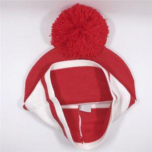 Woll New Designer Strick pom Hüte Männer Frauen Winter warme Mützen Art und Weise gestrickte beiläufige dick Hüte freies Verschiffen