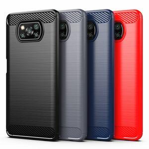 For Xiaomi Poco X3 M3 M2 F2 Pro Cover Silicone Phone Case For Redmi Note 9 Pro 9S 8 Mi Note 10