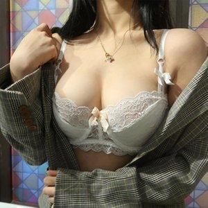 shaonvmeiwu fallen damen sexy spitze ultradünne unterwäsche bh französisch no schwamm bh dünne stil lj200924