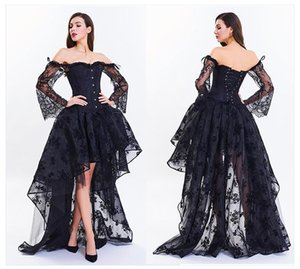 Women's Sexy Gothic Victorian Steampunk Corset Dress Leather Overbust Corsets and Bustiers Skirt Party Waist Trainer corset