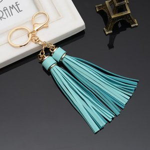 12pcs Key Jewelry Sale Leather Tassels Chain Key With Two Tassels For Womencar Keychain Bag Dozen Ring Whole BbyiNW H Eh820c Uvkos