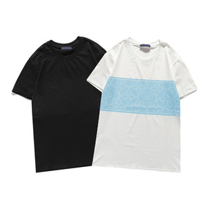2021 summer fashion men and women leisure luxury T shirt spring and summer style embroidered short sleeve casual shirt M-3XL#18