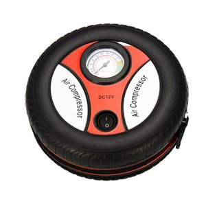 Vehicle Tire High Pressure Air Pump Electric Portable Automobile Air Pump Cigarette Lighter Tire Inflator