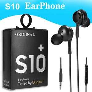 S8 S9 PK S6 S8 이어폰의 볼륨 제어와 높은 품질 OEM 이어폰 S10 이어폰베이스 헤드셋 스테레오 사운드 헤드폰