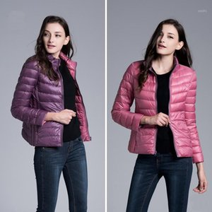 CHANGYUGE New 2017 Winter jacket Women Two Side 90% White Duck Down Jacket Women Coat Ultra Light Down Warm Jackets1