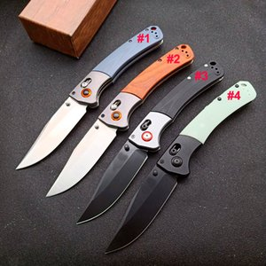 High Quality Butterfly 15080 Folding Knife S30V Black Stone Wash Blade G10 Rosewood + Steel Sheet Handle With Retail Box