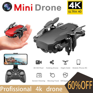 4K Drone Profissional Drone With Cameras HD Quadcopter Toys Folding Dron RC Helicopter Gps Dron Toys for Children Mini Drone Toy 201015