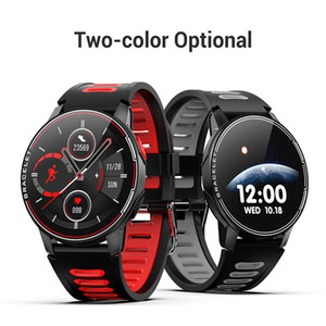 L6 New Smart Watch IP68 Waterproof 1.3Inch SportWatch For Men Women Bluetooth Smartwatch Fitness Tracker Heart Rate Monitor For Android IOS