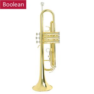 마우스 피스와 최고 품질 트럼펫 비비 B 플랫 내구성 황동 트럼펫
