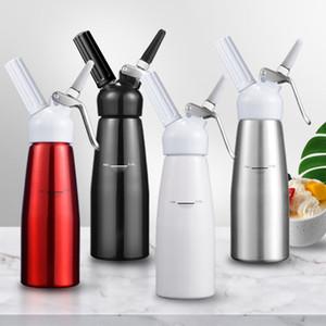 500ML Cream Whipper Dispenser Aluminium Alloy Whipped Fresh Cream Foam Maker Dispenser 3 Decorating Nozzles Kitchen Tools VT1913