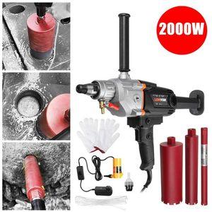 180mm 2000w Elétrica Elétrica Perfurações Elétricas Diamante Núcleo Elétrico Máquina de Perfuração Máquina de Concreto Máquina de Broca Máquina de Broca