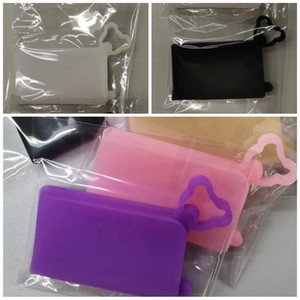 접이식 휴대용 얼굴 마스크 홀더 멀티 컬러 스퀘어 실리카 젤 스토리지 박스 핫 판매 높은 품질 3 5mcb H2