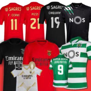 21 Pizzi Benfica Soccr Jersey Sporting CP 27 رفاه جوناس Jota Acuna Phellype ثالثي قميص كاميسيتا دي فيوتول الرجال الاطفال كيت الفانيلة 2020 2021