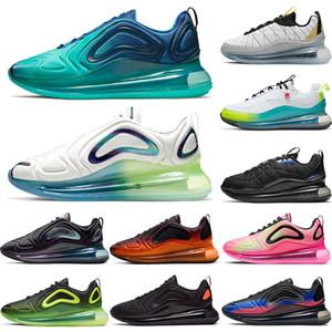 nike air max airmax 720 818 Floresta Sea 720 818 Top Fashion Running Shoes Almofada Esporte bolha ar do blocoAirmaxMax Worldwide azuis brancos Coral Stardust Trainers
