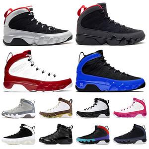 Nike Air Jordan 9 Retro 9s 2020 Nova Jumpman 9 9s Mens Basketball sapatos de cetimJordâniaRetro 9 JOHNNY KILROY Gym carvão Red Racer azul Sneakers Trainers Tamanho 13