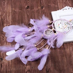 Neue Zwei Ringe Dream Catcher Exquisite Verarbeitung Fantasie Home Decoration Wind Chimes Home Wand Hanging Anhänger GWE4697