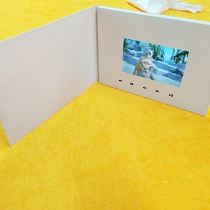 . Inch New Video Greeting Card Presentation Digital Advertising Player . Inch Screen Video Greetings