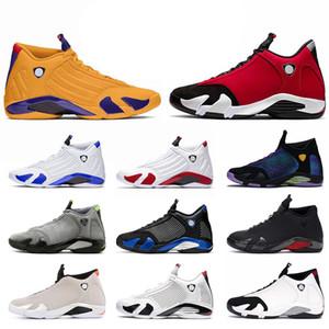 nike air jordan 14 14s retro 14 jumpman stock x zapatos de baloncesto para hombre tamaño 13 gimnasio rojo universidad dorado hiper zapatillas de deporte para hombre
