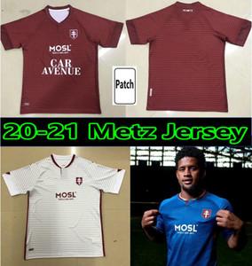 20 21 FC Metz Soccer Jerseys Diallo Centonze Campingsita de Foot Vagner Niane Fofana 2020 2021 Jersey Hombres Camisa de Fútbol Maillot de Futol