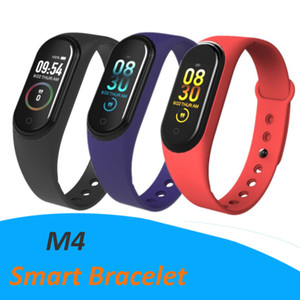 M4 Smart Band Fitness Tracker Watch Sport bracelet Heart Rate Smart Watch 0.96 inch Smartband Monitor Health Wristband Waterproof Cheapest