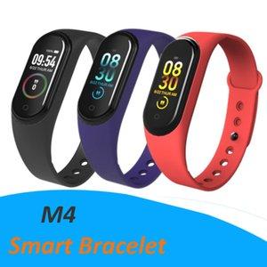 M4 Smart Band Fitness Tracker Watch Sport bracelet Heart Rate Smart Watch 0.96 inch Smartband Monitor Health Wristband Waterproof Cheapest