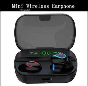 Mini Wireless Bluetooth 5.0 Headset TWS Sound In-Ear Stereo Earphone With Mic Auto Pairing Earbud