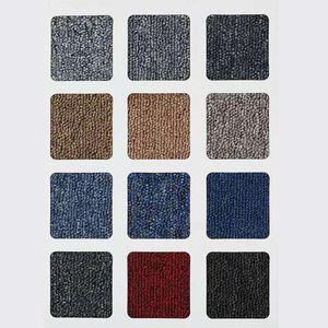 Wholesale 20inch Office Splice Tapis Solid Color Tapis pour Hotel Billiard Chambre Asphalte Tapis de sol Cuisine Tapis Non-Slip Tapis Tapis HWF2826